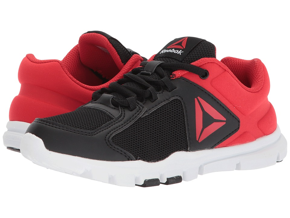 Reebok Kids - Yourflex Train 9.0 (Little Kid/Big Kid) (Black/Primal Red/White) Boys Shoes