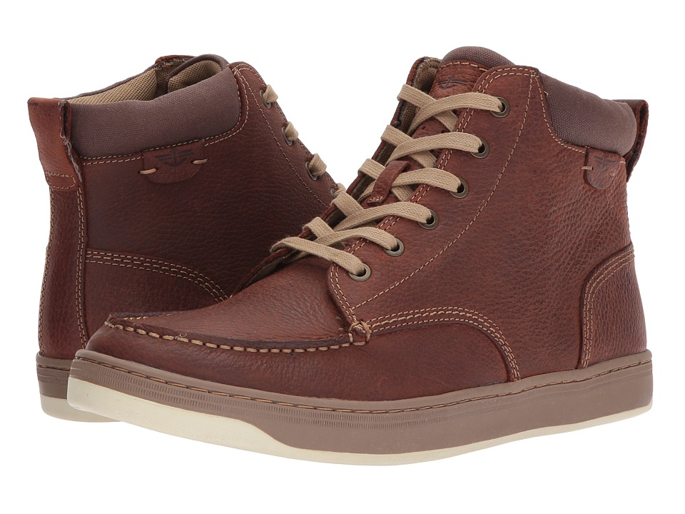 Dockers Chadwick (Red/Brown Oiled Tumbled Full Grain) Men