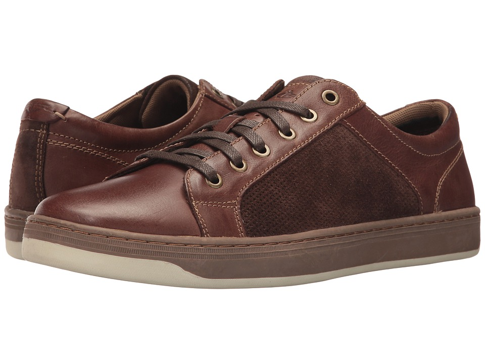 Dockers Kostner (Brown Polished Full Grain) Men