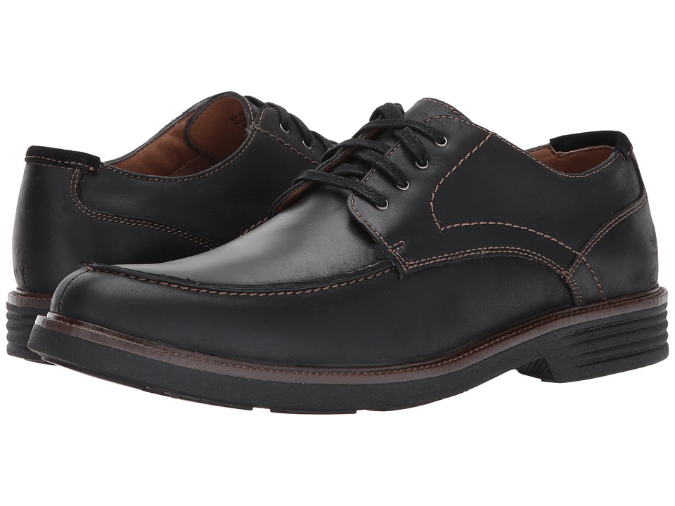 Dockers Midway (Black Soft Oiled Crazyhorse) Men
