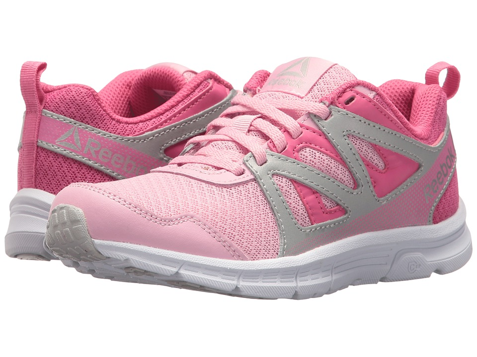 Reebok Kids - Run Supreme 2.0 (Little Kid/Big Kid) (Squad Pink/Pink/Pure Silver/White) Girls Shoes
