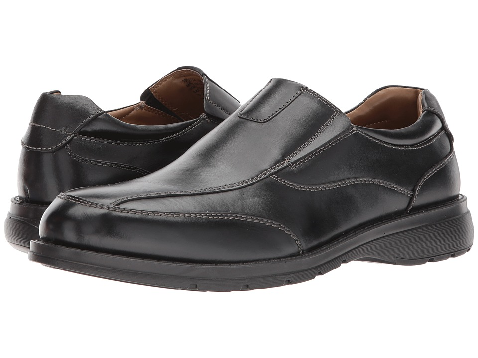 Dockers Fontana Mudguard Loafer (Black Polished Full Grain) Men