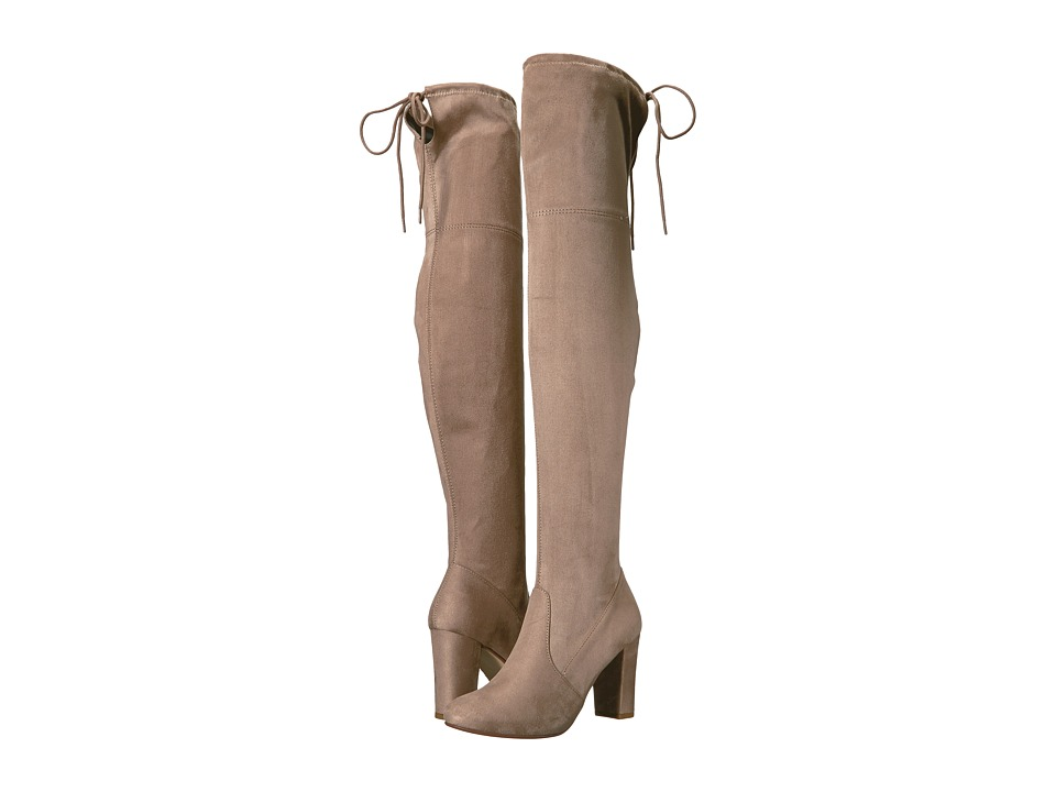 Chinese Laundry Brinna (Toffee Suedette) Women's Dress Boots