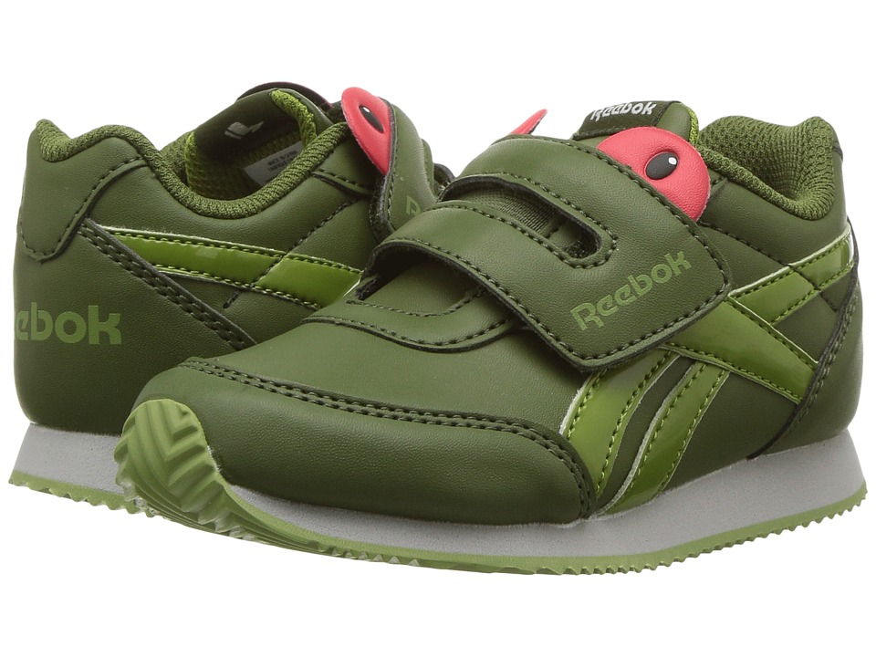 Reebok Kids Royal CL Jogger 2 KC (Toddler) (Frog Wild Green/Bright Moss/Skull Grey) Boys Shoes