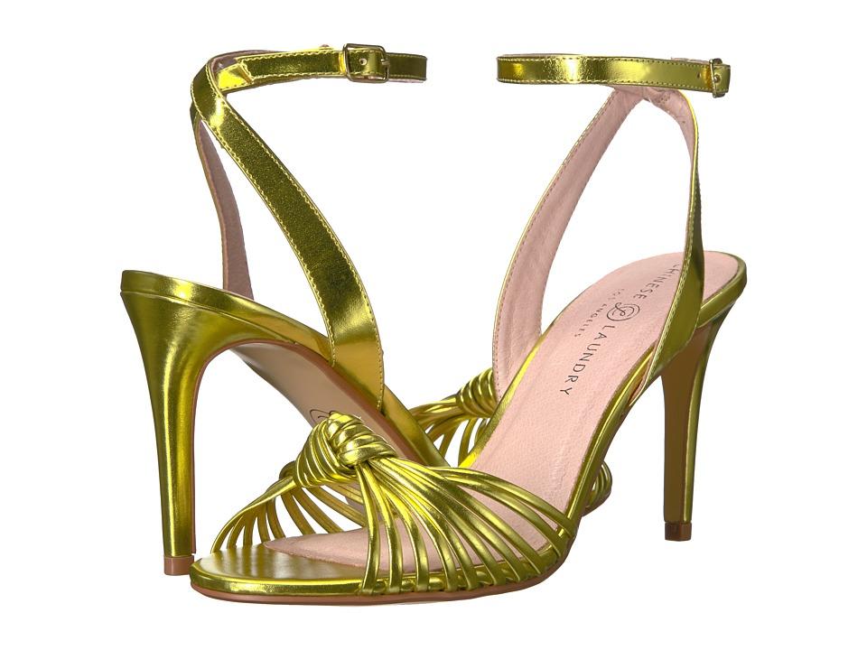 Chinese Laundry Selina (Gold Metallic) High Heels