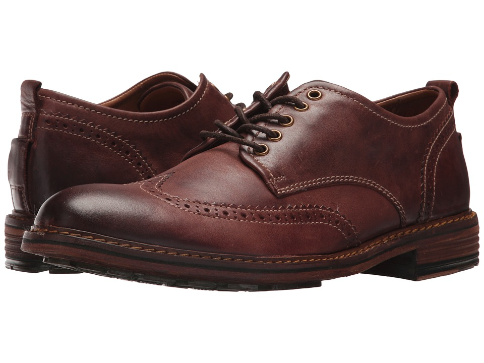 G.H. Bass & Co. Hamilton (Cognac Tumbled Full Grain) Men