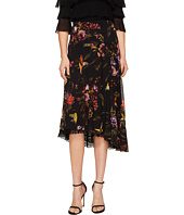 FUZZI - Hummingbird 3/4 Lace Trim Tulle Skirt
