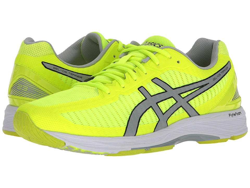 ASICS - GEL-DS Trainer(r) 23 (Safety Yellow/Mid Grey/White) Mens Running Shoes