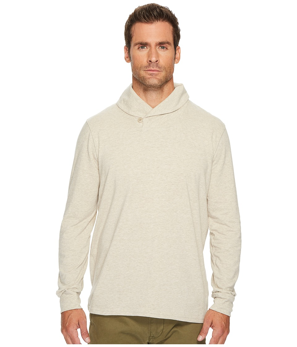 Lucky Brand Saturday Stretch Popover Shawl (Oatmeal) Men