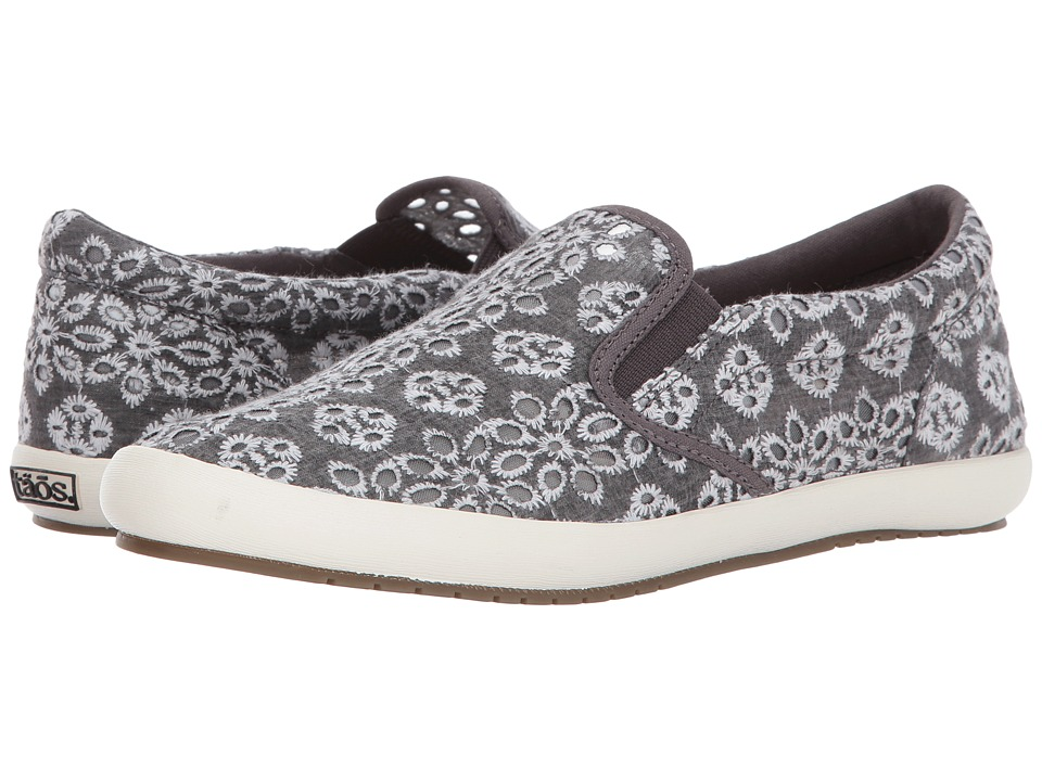 Taos Footwear Dandy (Charcoal Lace) Women