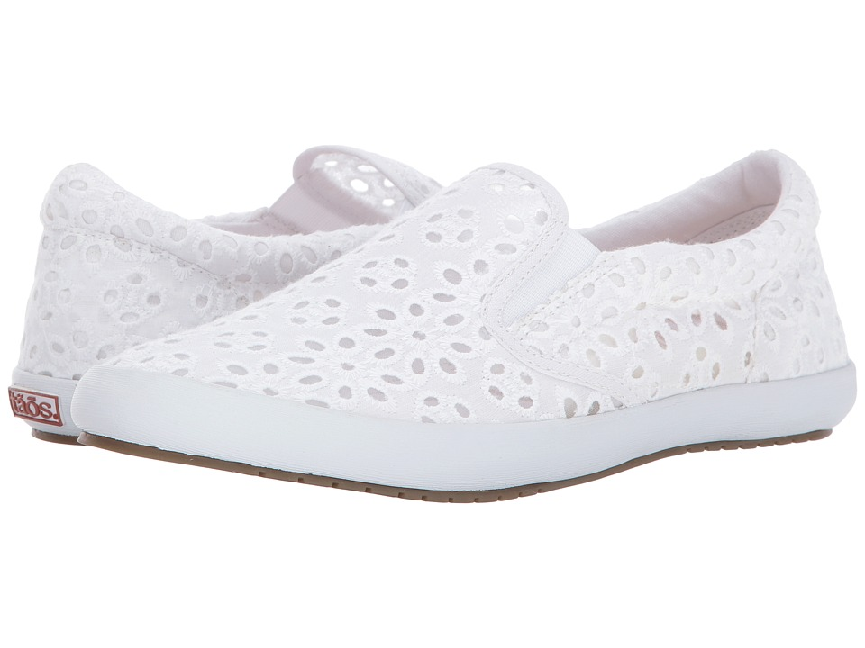 Taos Footwear Dandy (White Lace) Women