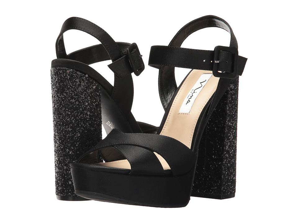 Nina Savita (Black) High Heels