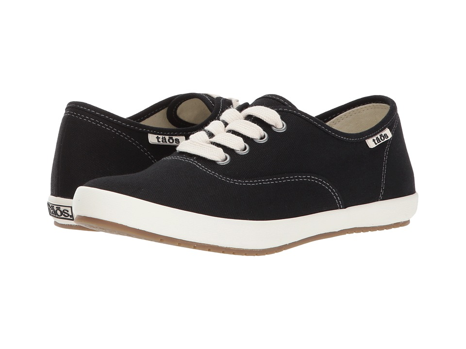 Taos Footwear Guest Star (Black Canvas) Women