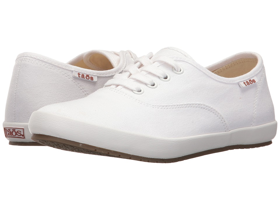 Taos Footwear Guest Star (White Canvas) Women