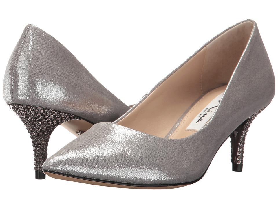 NinaTiara  (Dark Silver) Womens 1-2 inch heel Shoes