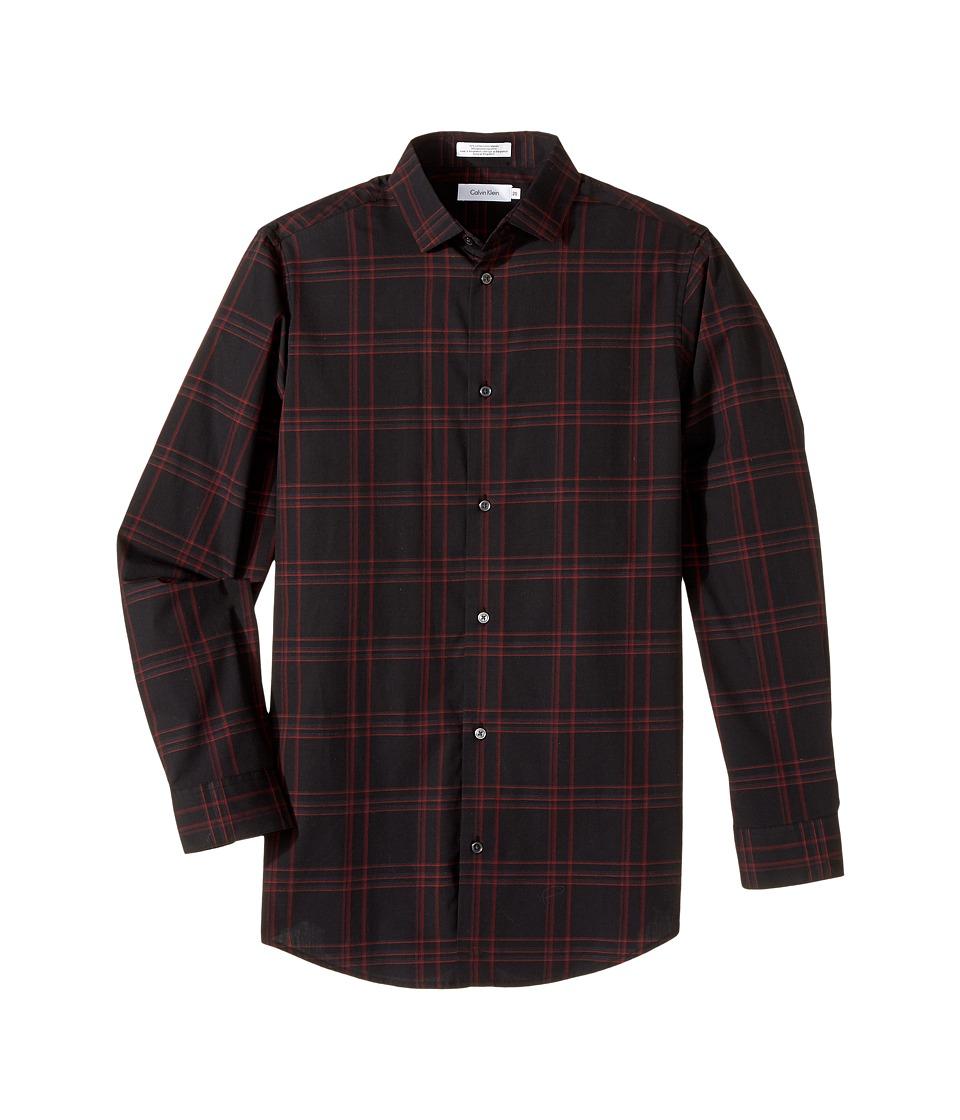 Calvin Klein Kids - Long Sleeve Echo Windowpane Shirt
