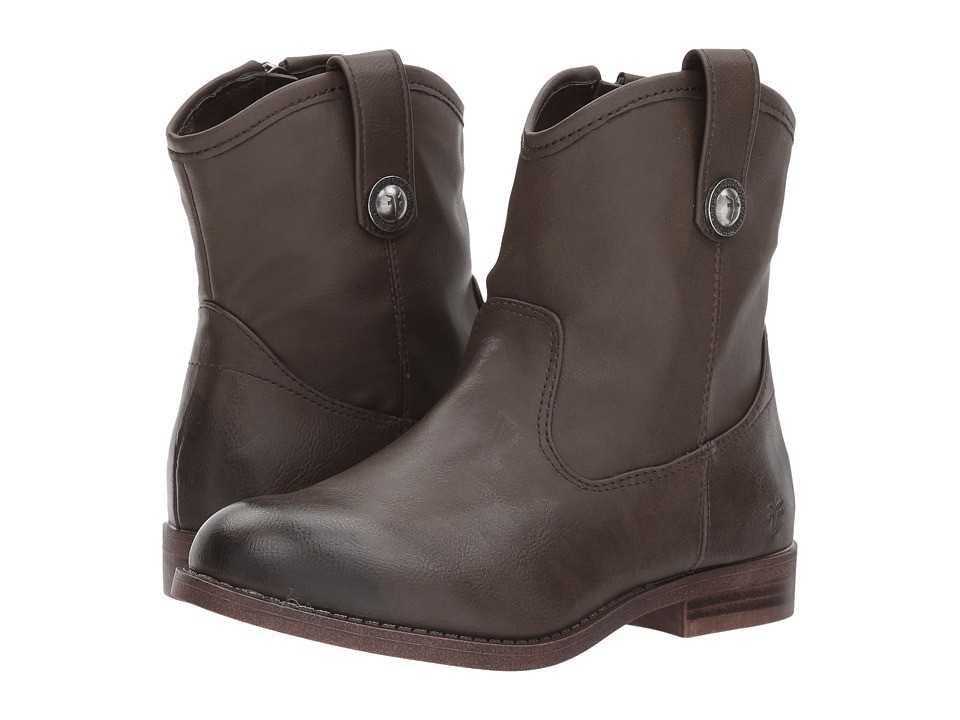 Frye Kids Melissa Button Short (Little Kid/Big Kid) (Slate) Girl's Shoes