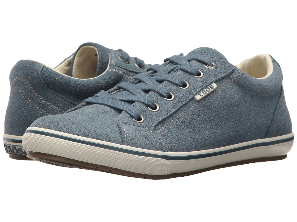 Taos Footwear Retro Star (Blue Suede) Women