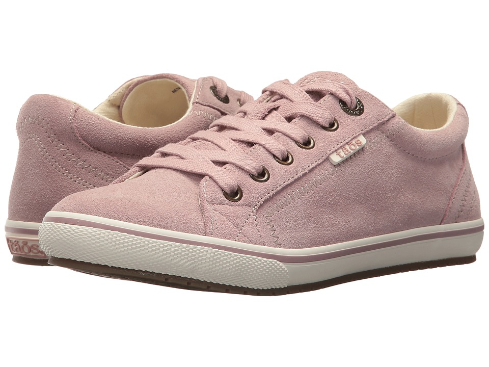 Taos Footwear Retro Star (Pink Suede) Women