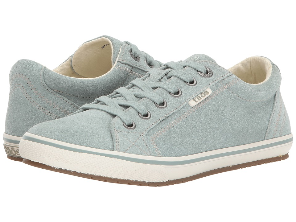 Taos Footwear Retro Star (Sage Suede) Women