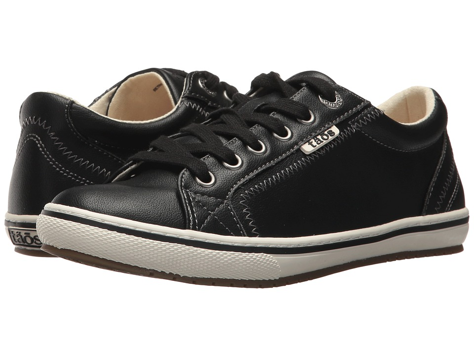 Taos Footwear Retro Star (Black Leather) Women
