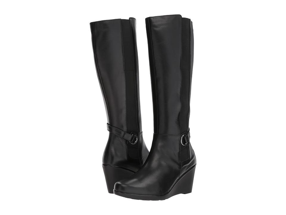 Blondo Lexie Waterproof (Black Leather) Women