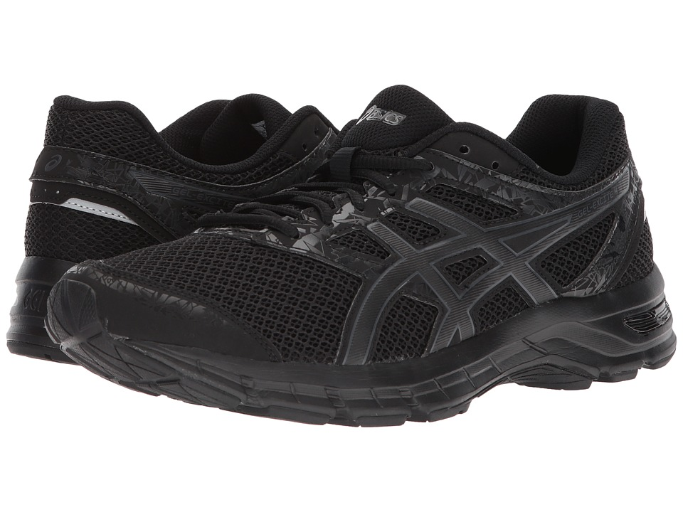 ASICS - Gel-Excite(r) 4 (Black/Carbon/Black) Mens Running Shoes