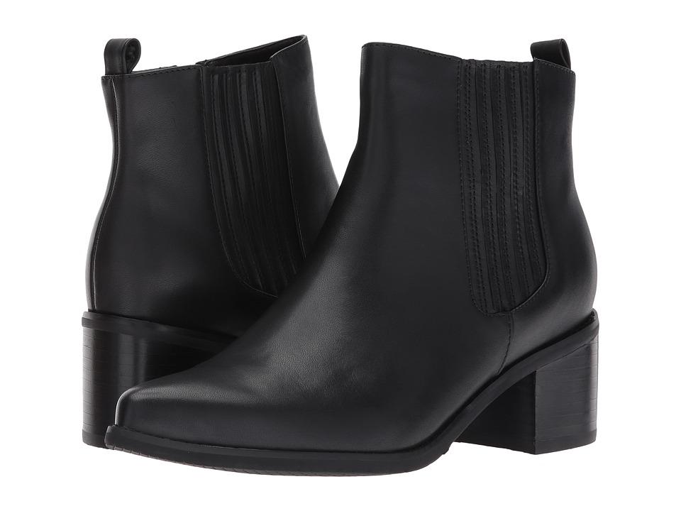 Blondo Elvina Waterproof (Black Leather) Women