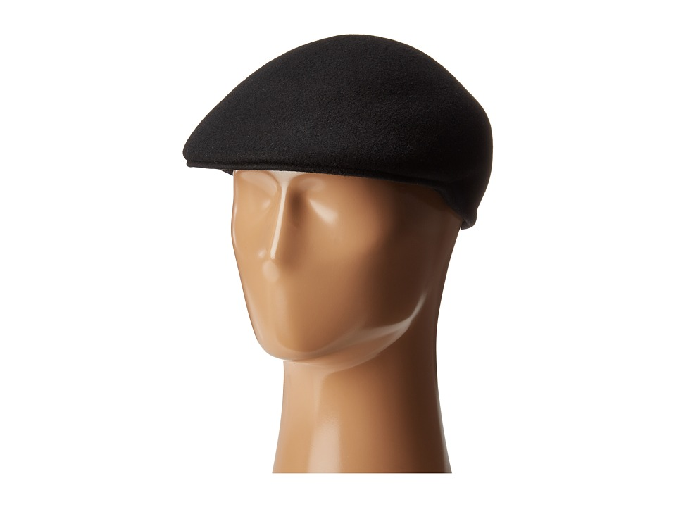 Country Gentleman - Cuffley Ivy Cap with Firm Shape Retention (Black) Caps