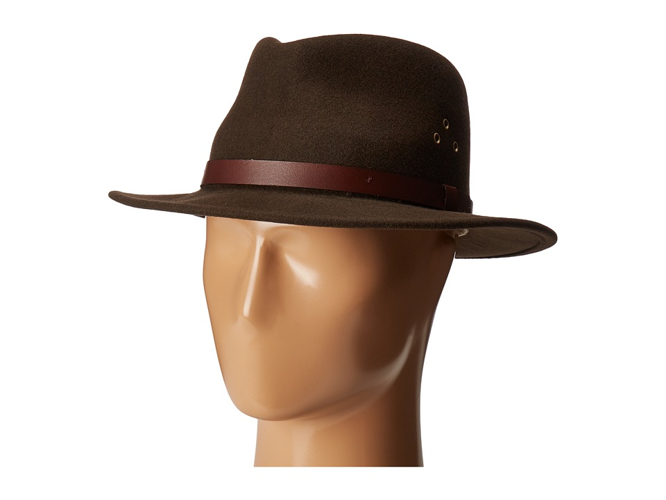 Country Gentleman - Dickens Fedora Hat (Khaki) Caps