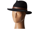 Country Gentleman Bryson Drop Brim Fedora with Leather Trim