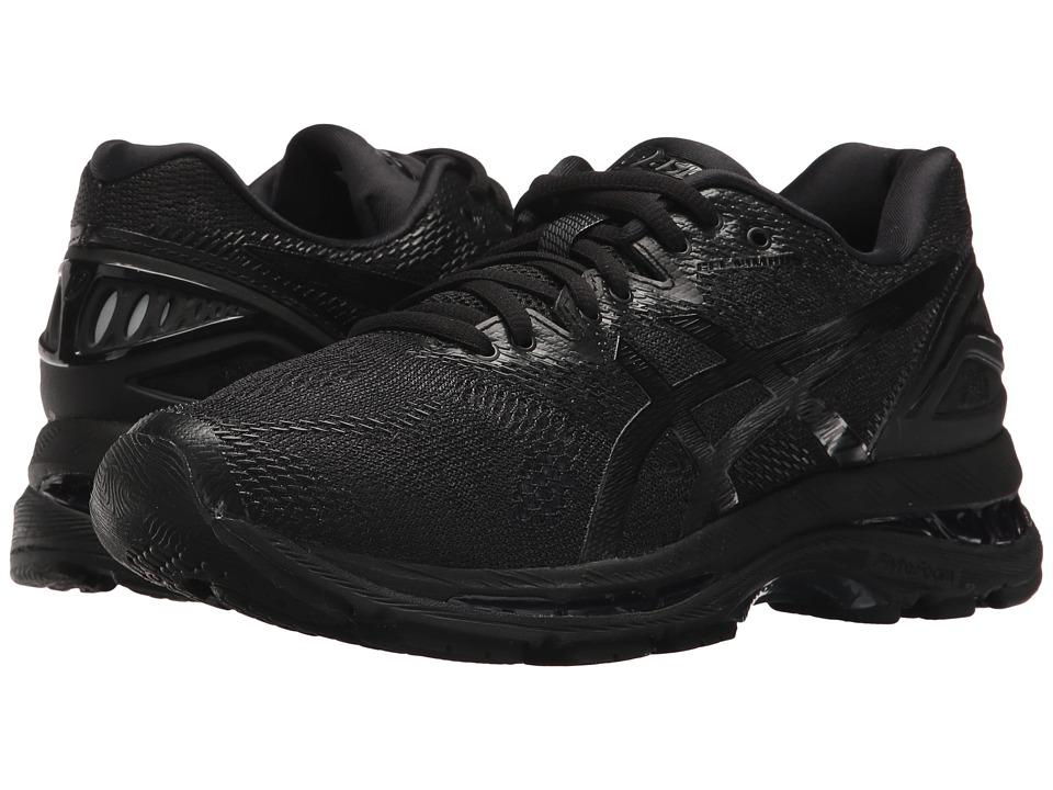 Asics GEL-Nimbus(r) 20 (Black/Black/Carbon) Women's Runni...