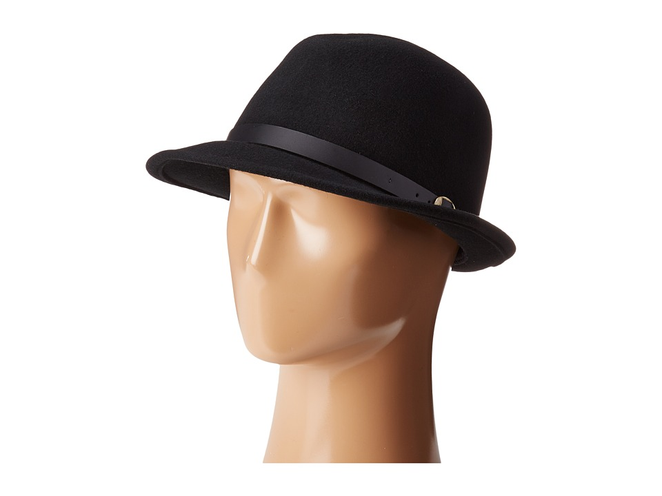 Country Gentleman Wallace Classic Fedora Hat (Black) Caps