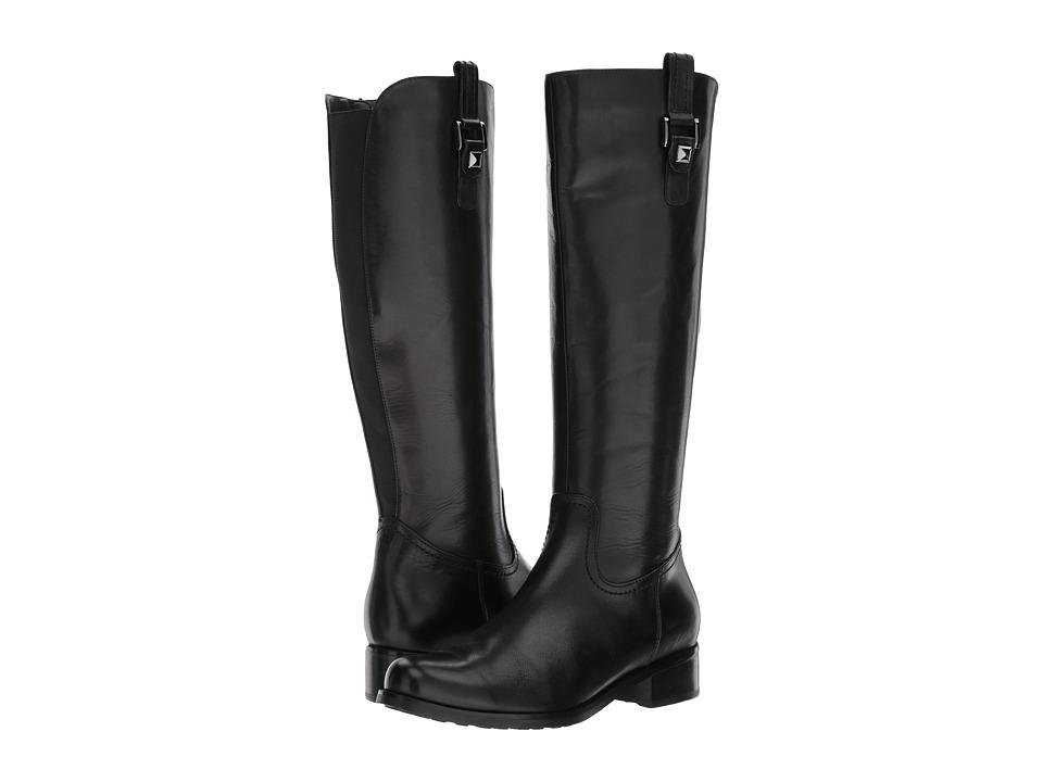 Blondo Velvet Waterproof (Black Leather) Women