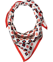 Tory Burch - Milano Square Silk Neckerchief Scarf