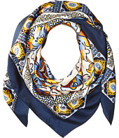 Tory Burch - Tiger Lily Silk Square Scarf