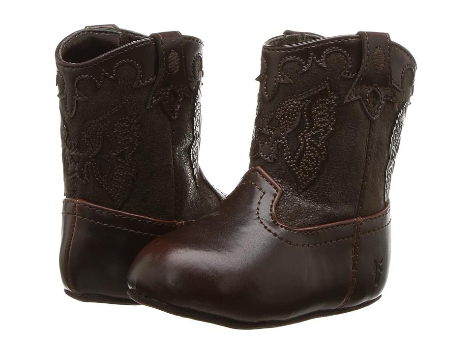 Frye Kids Firebird (Infant/Toddler) (Brown) Kid's Shoes