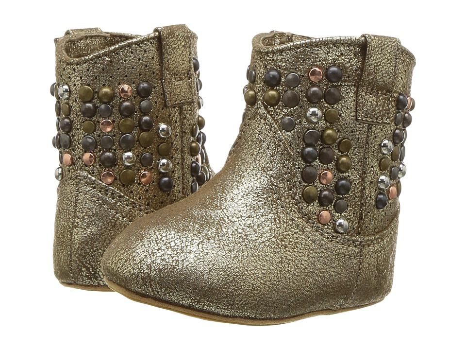 Frye Kids Deborah (Infant/Toddler) (Gold) Girl's Shoes