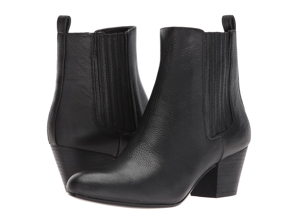 Nine West Haldi (Black Leather) Women