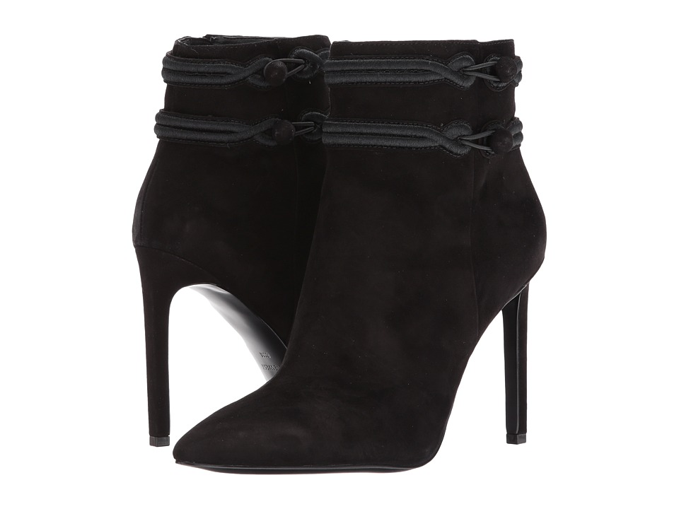 Nine West - Teresa (Black/Black Suede) Women's Boots