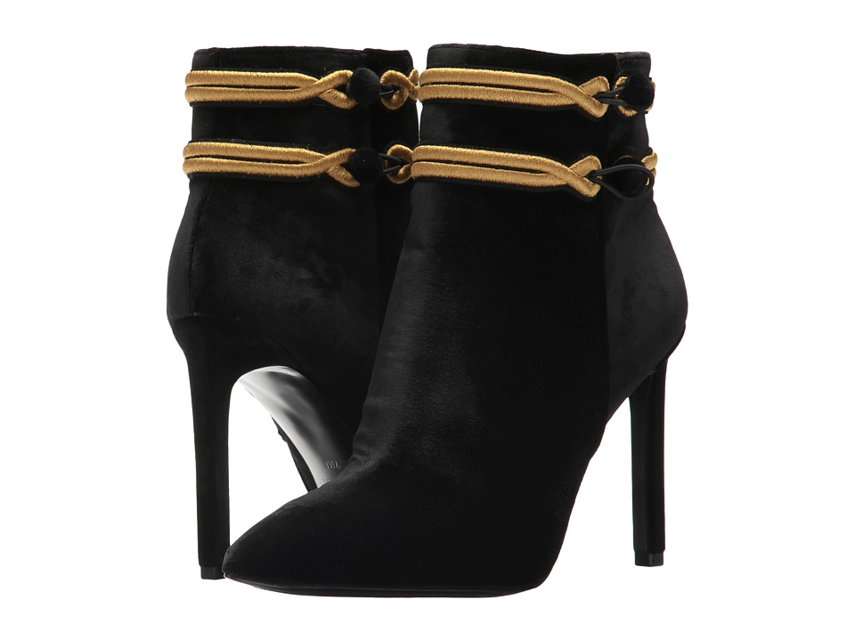 Nine West Teresa (Black/Black Fabric) Women