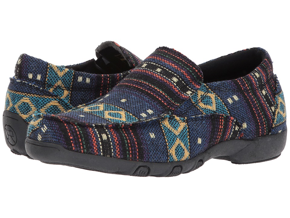 Roper Johnnie (Black) Slip-On Shoes