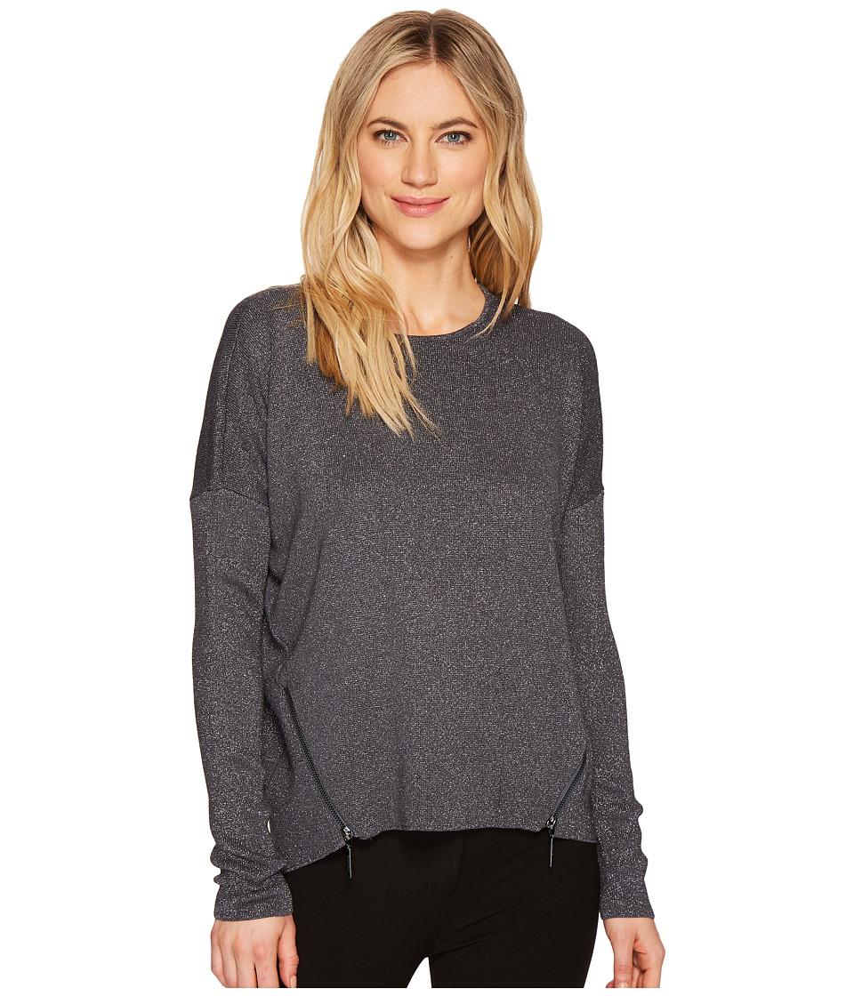 Ellen Tracy - Zipper Seams Sweater
