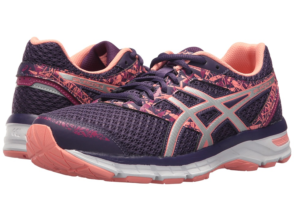 ASICS Gel-Excite 4 (Grape/Silver/Begonia Pink) Women's Running Shoes