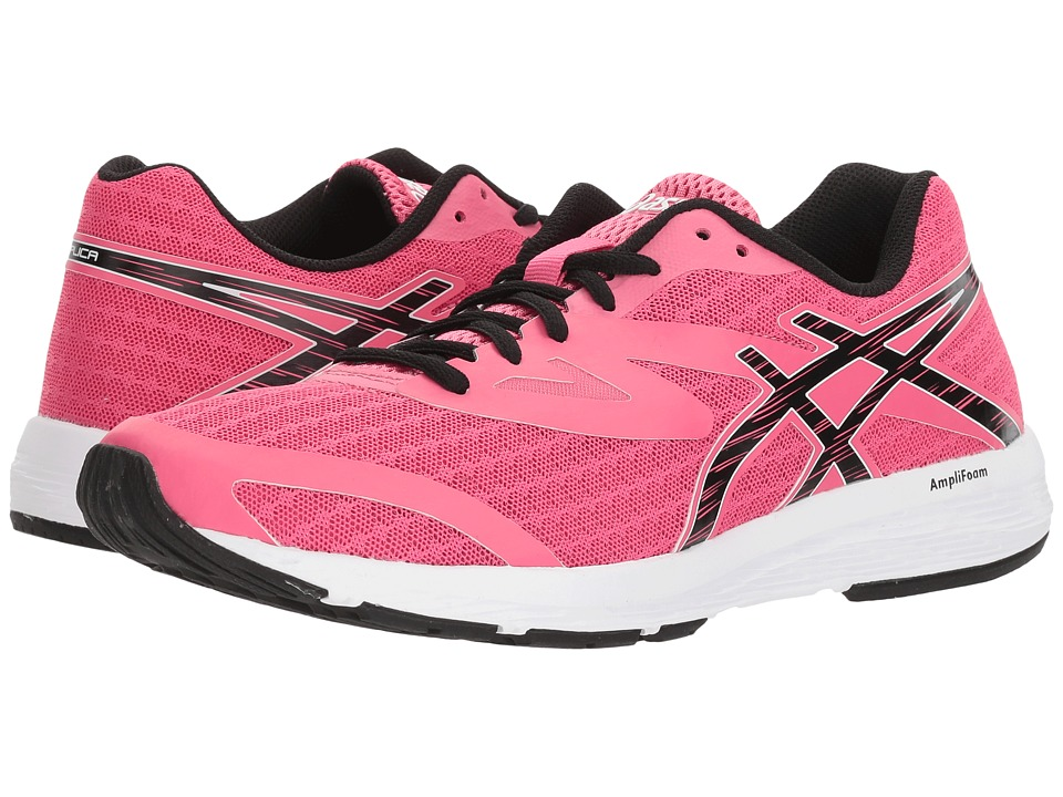 ASICS Amplica (Hot Pink/Black/White) Women's Running Shoes