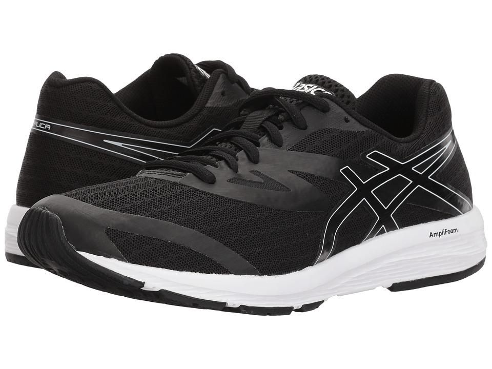 ASICS Amplica (Black/Black/White) Women's Running Shoes
