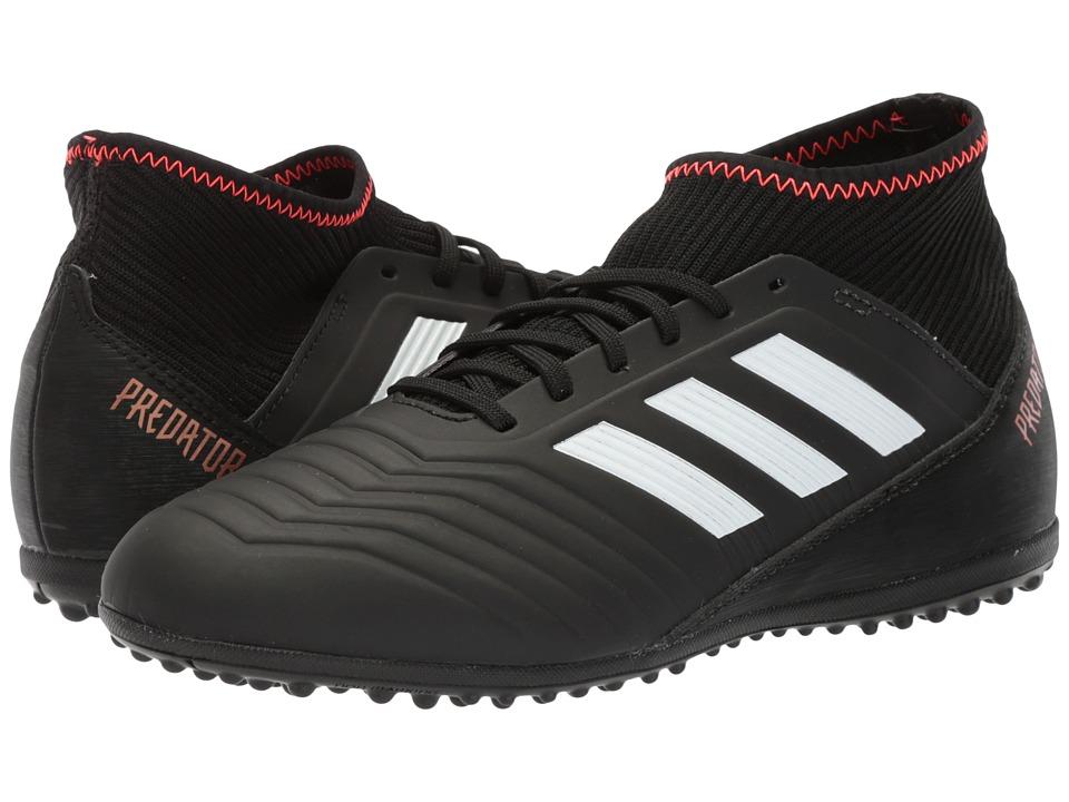 adidas Kids Predator Tango 18.3 Turf (Little Kid/Big Kid) (Black/White/Solar Red) Kids Shoes