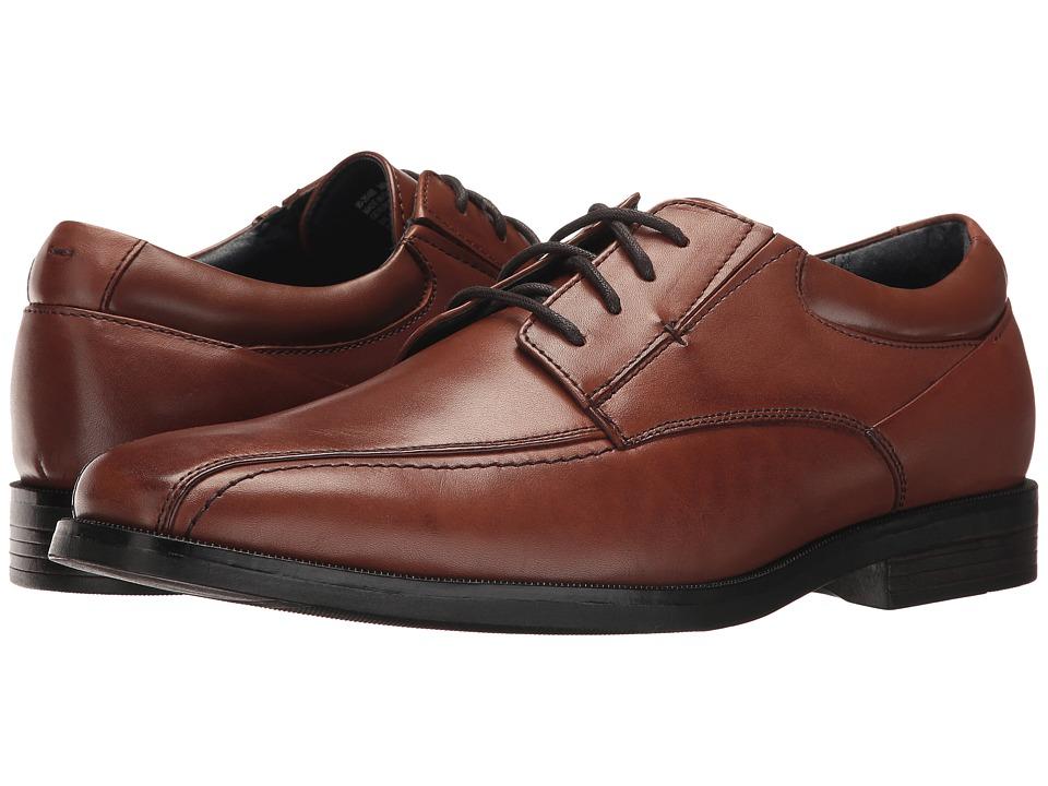 Dockers - Endow 2.0 Bike Toe Oxford (Whiskey Polished Full Grain) Mens Shoes