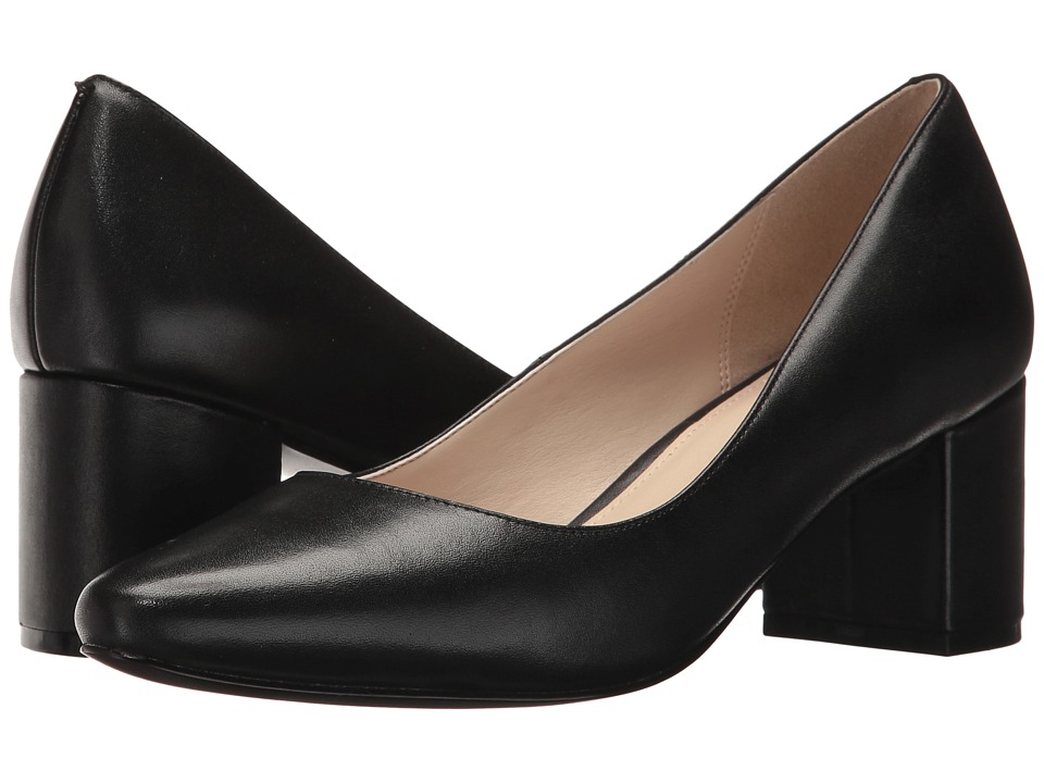 Cole Haan Justine Pump 55mm (Black Leather) Women's Shoes