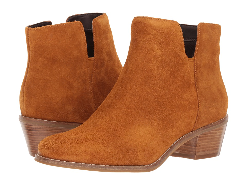 Cole Haan Abbot Bootie (Cathay Spice Suede) Women